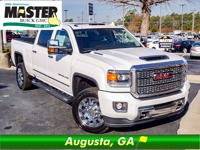 New 2018 Gmc Sierra 2500hd Denali 4d Crew Cab In Augusta